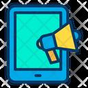 Online Marketing Online Business Marketing Tab Advertising Icon