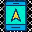 Tab Tablet Direction Arrow Icon