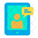 Tab Online Chat Icon