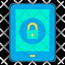 Lock Tab Secure Tab Tablet Icon