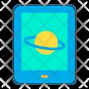 Tab Tablet Saturn Icon