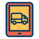 Tab Tablet Truck Icon