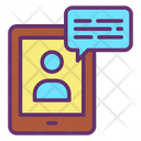 Tab User Chat Icon