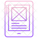 Tab Wireframe Icon