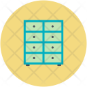 Table Drawer Books Icon