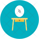 Table Drawer Mirror Icon