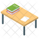 Book Table Desk Library Table Icon