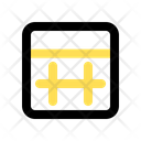 Table Date Schedule Icon
