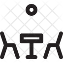 Table Chair Relax Icon