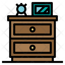 Night Stand Furniture And Household Furniture Icon