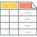 Mfrequency Table Icon
