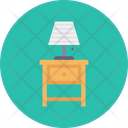 Drawer Side Table Icon