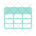 Table Cells Spreadsheet Icon