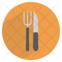 Table Knife Fork Icon
