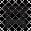 Table Design Furniture Icon