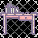 Table Desk Furniture Icon