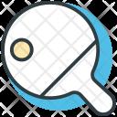 Table Tennis Bat Icon