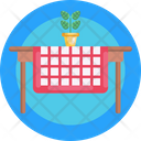 Table Cloth Flower Pot Flower Icon