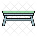 Table Folding Modern Icon