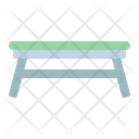Table Folding Modern Icon
