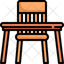 Table Desk Dinner Icon