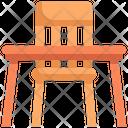 Table Seat Desk Icon