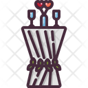 Table Birthday And Party Furniture Icon