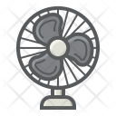 Table Fan Air Icon