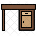 Table Desk Office Icon