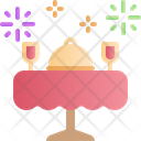 Table Dinner Food Icon