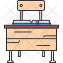 Table Chair Book Icon