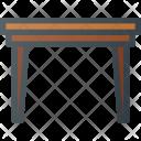 Table Desk Serve Icon