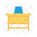 Table Chair Office Icon