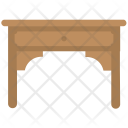 Console Table Desk Icon