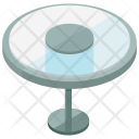 Table Glass Furniture Icon