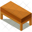 Long Wooden Endtable Icon