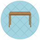 Table Dinning Square Icon