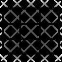 Table Grid Nine Icon