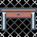 Table Drawer Furniture Icon