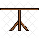 Single Leg Table Icon