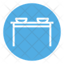 Table Dinner Table Furniture Icon