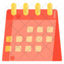 Table Calendar Icon