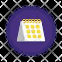 Table Calendar Schedule Calendar Icon