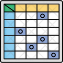 Chart Numbers Statistics Icon