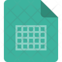 Table Document Excel Icon