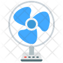 Table Fan Fan Air Icon