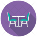 Patio Furniture Table Icon