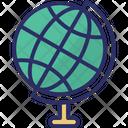 Table Globe Globe Desktop Globe Icon