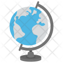 Globe Geography School Icon