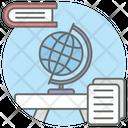 Globe Sphere Planet Icon